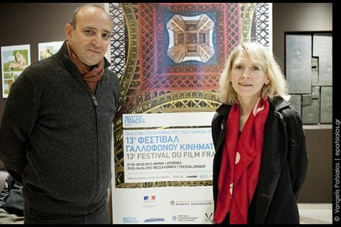 Directors Mourad Ben Cheikh (No More Fear-Jamais plus peur)and Muriel Coulin, co-director with her sister Delphine Coulin of  17 Girls-17 Filles